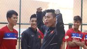 """U22 Việt Nam tươi rói sẵn sàng """"chiến"""" người Thái"""