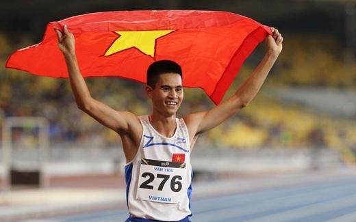 SEA Games 23/8: Lê Tú Chinh giành HCV, phá kỷ lục SEA Games chạy 200m
