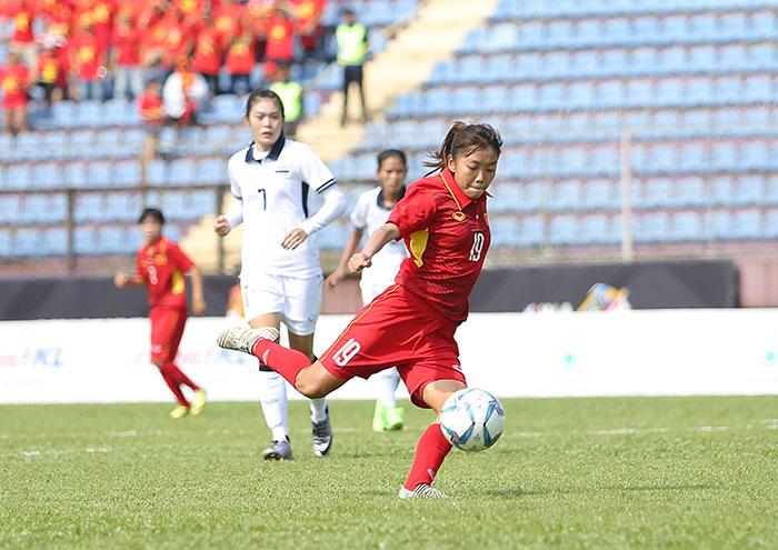 Nữ Việt Nam vs nữ Malaysia: Dội mưa bàn thắng lấy HCV