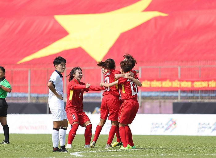 Nữ Việt Nam, Nữ Thái Lan, Nữ Malaysia, Bóng đá nữ SEA Games 29