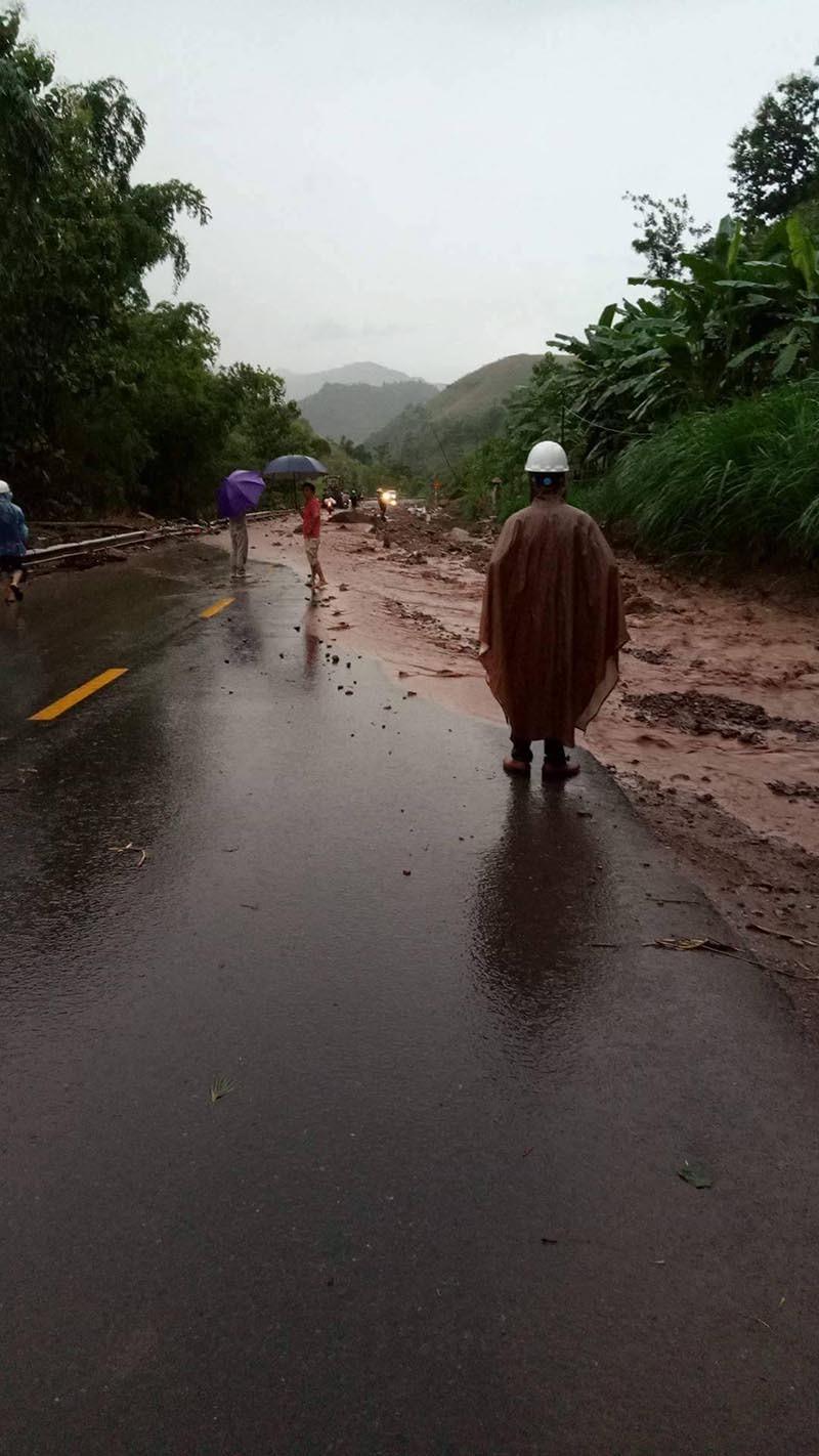 bão số 6, cơn bão số 6, mưa lũ, sạt lở, Sơn La