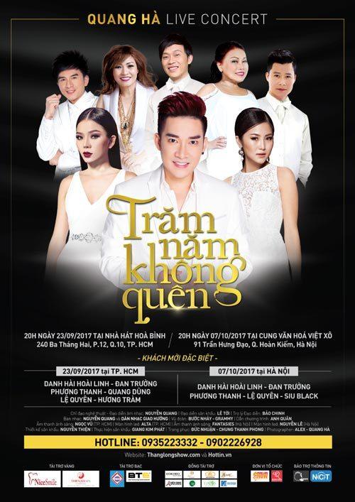 Quang Hà làm live concert khủng tri ân khán giả
