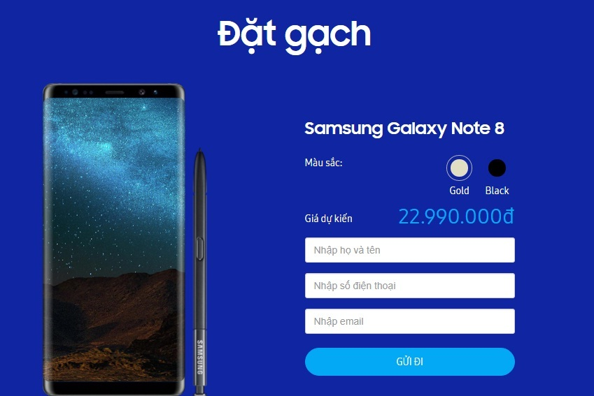 Galaxy Note 8, Smarphone, Android, điện thoại di động, Samsung