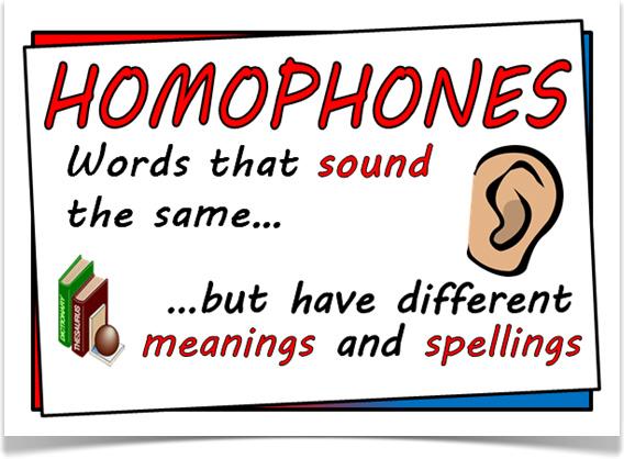 25 cặp từ đồng âm khác nghĩa hay gặp trong tiếng Anh