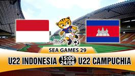 """Cùng Thái Lan, U22 Indonesia """"đá"""" U22 Việt Nam khỏi SEA Games"""
