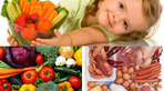Lưu ý chế độ ăn cho trẻ bị còi xương
