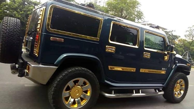 Nữ tài xế lái xe dát vàng ở Hà Nội gây xôn xao - ảnh 5