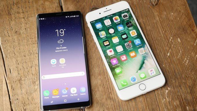 'So găng' các tính năng của Galaxy Note8 với iPhone 7 Plus