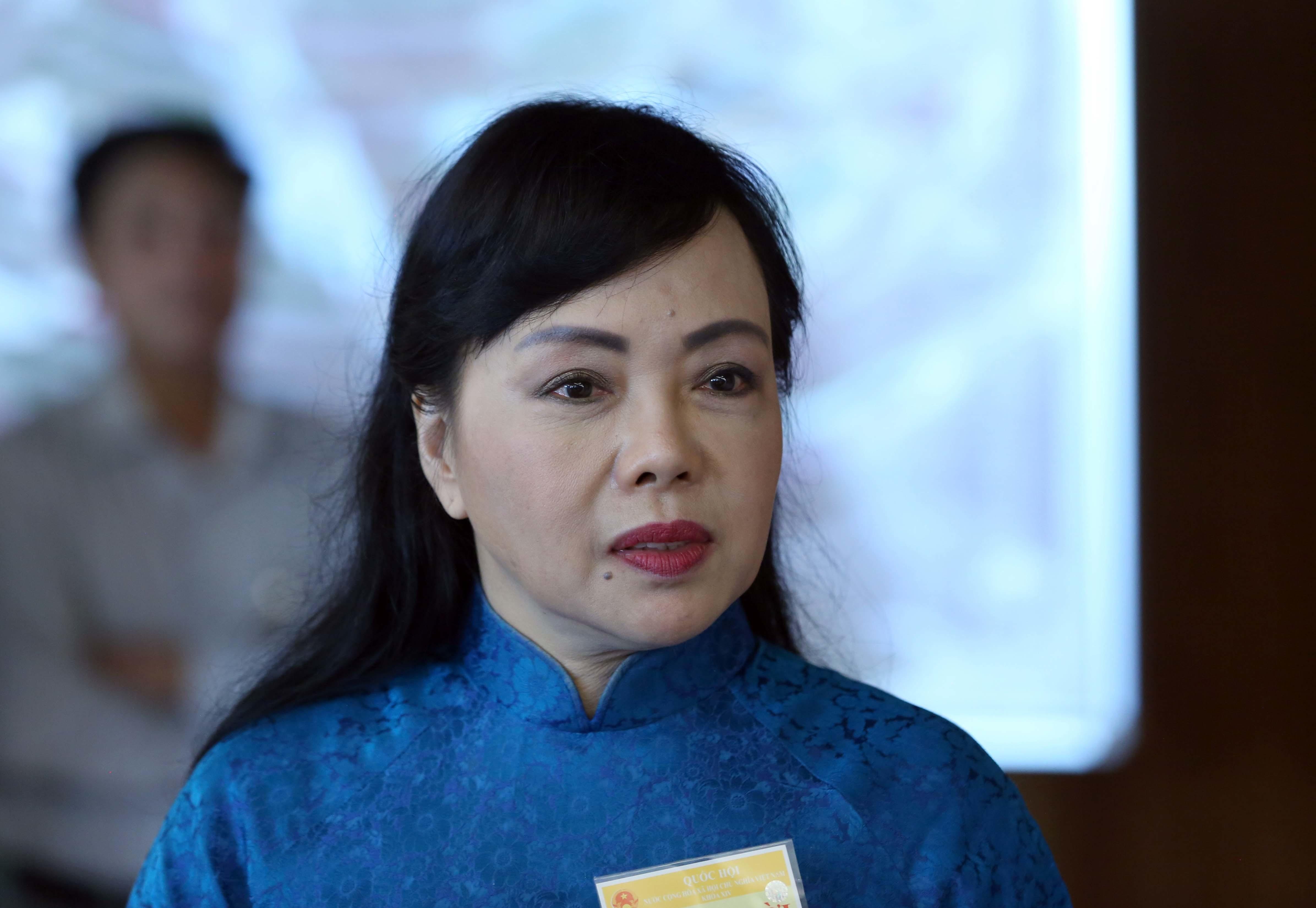 Bộ trưởng Y tế, Bộ trưởng Nguyễn Thị Kim Tiến, Nguyễn Thị Kim Tiến