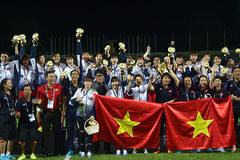 Vượt qua Thái Lan, nữ Việt Nam đoạt HCV SEA Games