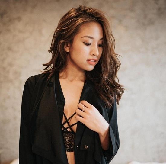 Hình ảnh sexy hiếm thấy của MC Thanh Vân Hugo