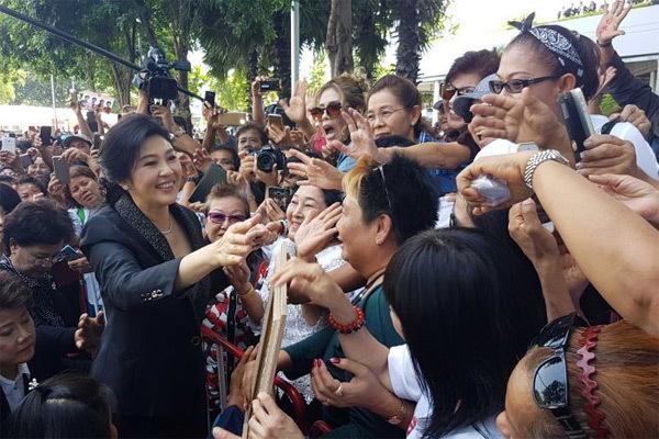 Yingluck Shinawatra, cựu Thủ tướng Thái Lan hầu tòa