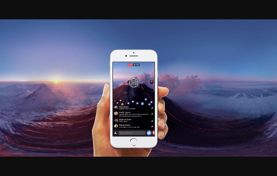 Facebook có tính năng mới, chụp và đăng ảnh 360 độ