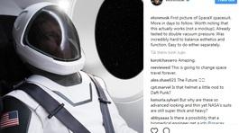 Elon Musk thử nghiệm đồ du hành vũ trụ do SpaceX chế tạo