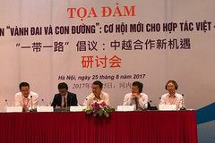 Học giả Việt-Trung bàn về Sáng kiến vành đai và con đường