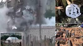 Toán khủng bố tự nổ tung chính mình khi bị bao vây
