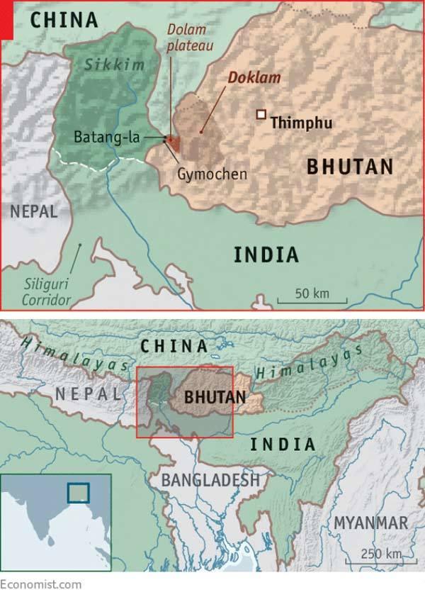 Xung đột Trung - Ấn,Ấn Độ,Trung Quốc