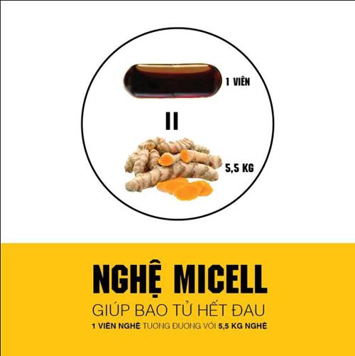 Nghệ Nano-Micelles - Giải pháp hỗ trợ người bệnh đau dạ dày