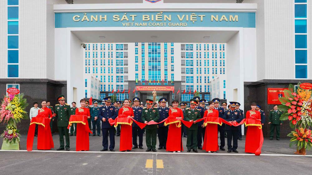 Khánh thành trụ sở mới Bộ Tư lệnh Cảnh sát biển