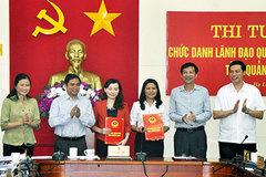 Quảng Ninh bổ nhiệm 89 lãnh đạo thông qua thi tuyển