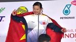 Video Ánh Viên xuất sắc giành HCV 50m bơi ngửa