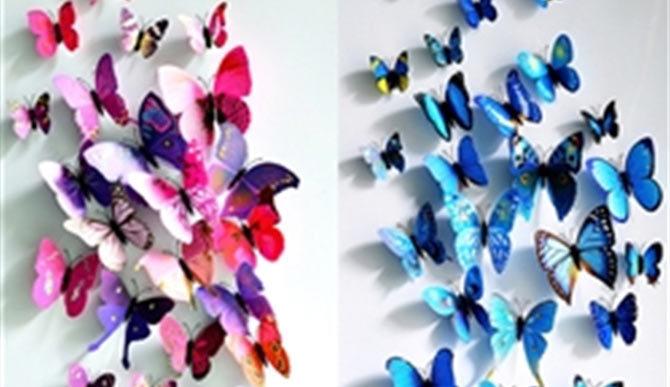 Cách làm bướm giấy cực đơn giản
