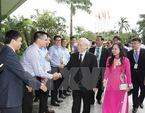 Tổng bí thư gặp gỡ bà con kiều bào tại Myanmar