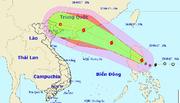 Bão giật cấp 11 tiến vào biển Đông, 2 miền Nam Bắc mưa to