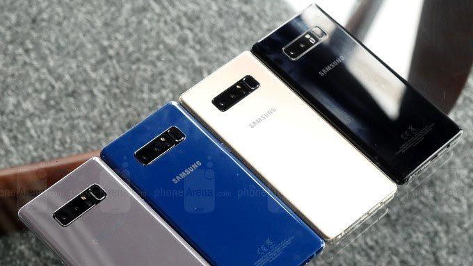 Sếp Samsung tiết lộ lí do Galaxy Note8 dùng viên pin bé hơn