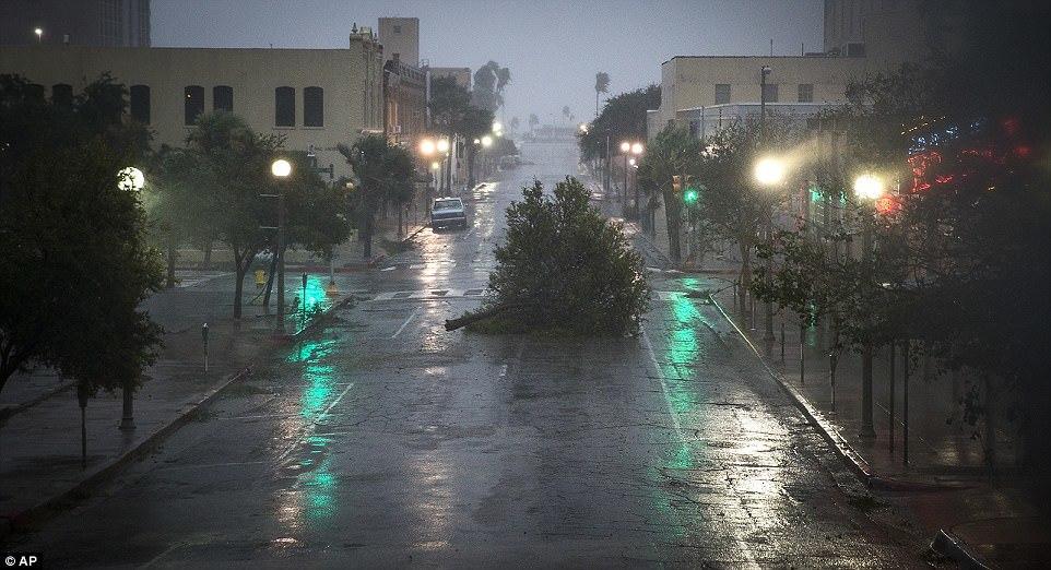 'Siêu bão thập kỷ' Harvey tấn công nước Mỹ