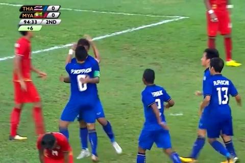 U22 Thái Lan 1-0 U22 Myanmar