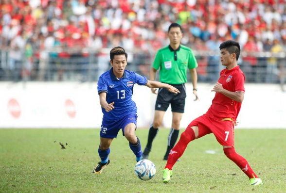 U22 Thái Lan vào chung kết nhờ bàn thắng ở phút 90+5