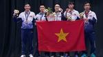 Hạ Singapore, bóng bàn Việt Nam giành HCV lịch sử ở SEA Games