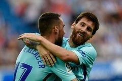 Messi nhảy tango, Barca lấy trọn vẹn 3 điểm