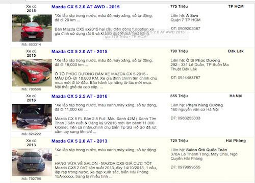 Mua xe ô tô cũ cần lưu ý những gì?