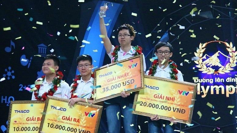 Phan Đăng Nhật Minh vô địch Đường lên đỉnh Olympia năm 2017