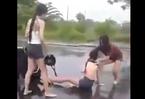 Thiếu nữ bị đánh tới tấp, bò lê lết trên đường ở Đà Nẵng