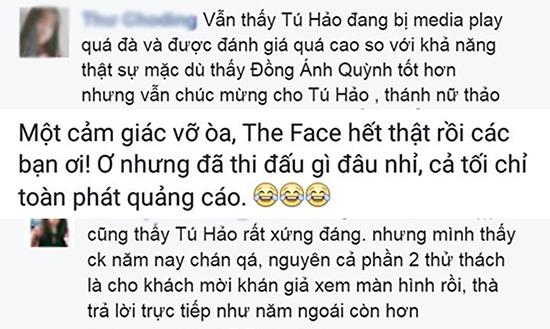 Tú Hảo giành ngôi Quán quân The Face Việt Nam 2017