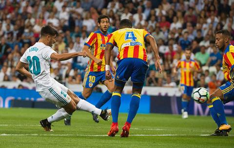 Real Madrid 2-2 Valencia