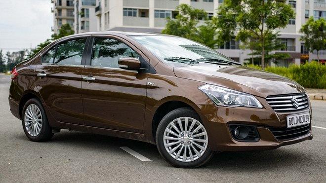 Suzuki Ciaz, ô tô Suzuki, ô tô Nhật, ô tô giá rẻ, ô tô giảm giá, ô tô nhập, Thị trường ô tô