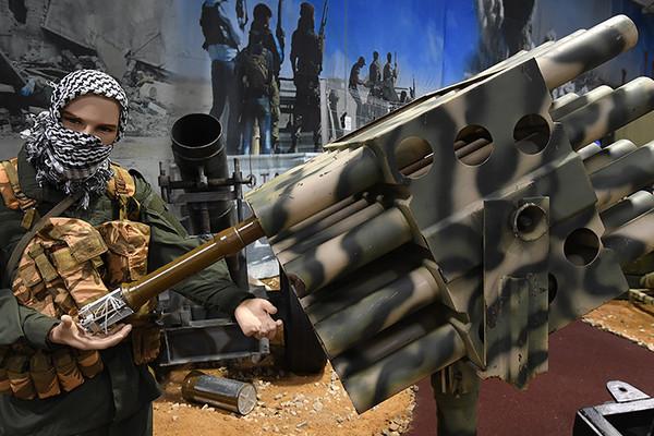 'Triển lãm' vũ khí tự chế của IS