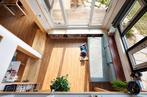 Nhà cấp 4 nổi bật giữa ngoại ô với kiến trúc siêu độc