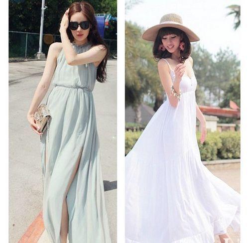 Váy maxi - thời trang hè 2017