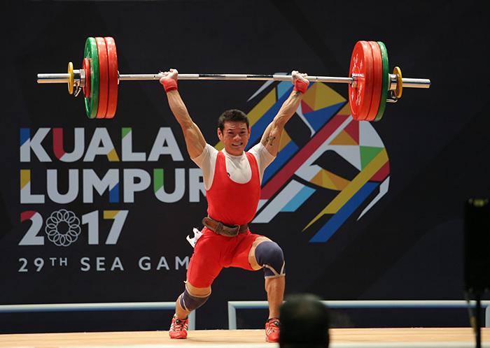 Đoàn Thể thao Việt Nam, cử tạ, Thạch Kim Tuấn
