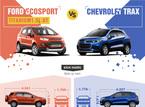 Ford Ecosport vs Chevrolet Trax: Cuộc chiến SUV cỡ nhỏ
