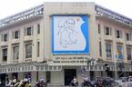 Bức tranh 40 năm tuổi treo ở góc phố đẹp nhất Thủ đô