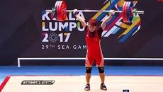 Khoảnh khắc Trịnh Văn Vinh giành HCV ngoạn mục, phá kỷ lục SEA Games