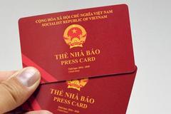 Thu hồi thẻ nhà báo của ông Nguyễn Thế Thắng