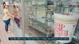 Trải nghiệm lạ lẫm bên trong bảo tàng mỳ tôm