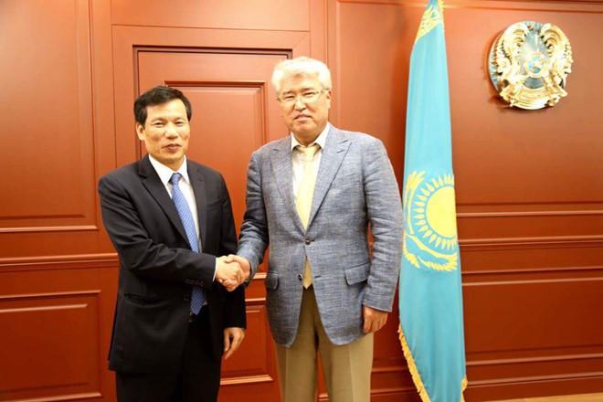 Tăng cường hợp tác về văn hóa, thể thao Việt Nam và Kazakhstan